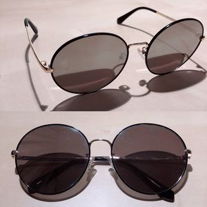 Accessories - Silver Mirrored Circle Sunglasses